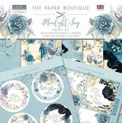 The Paper Boutique - Moonlight Song Collection - 8x8 paper Kit