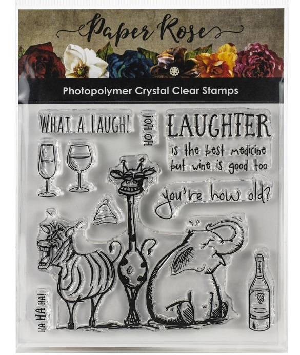 Paper Rose - New Clear Stamp Sets