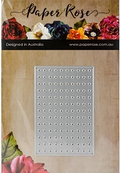 Paper Rose - Cutting Die - Pegboard Small