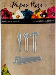 Paper Rose - Cutting Die - Tool Set 1