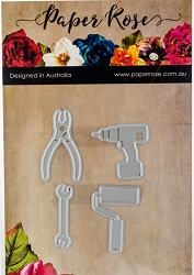 Paper Rose - Cutting Die - Tool Set 2