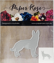 Paper Rose - Cutting Die - Standing Dog