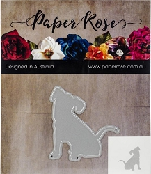 Paper Rose - Cutting Die - Sitting Dog