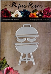 Paper Rose - Cutting Die - BBQ