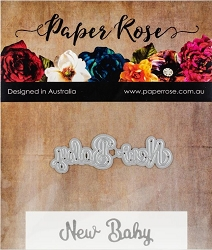 Paper Rose - Cutting Die - New Baby