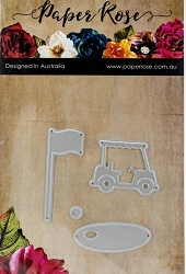 Paper Rose - Cutting Die - Golf Accessories