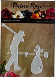 Paper Rose - Cutting Die - Golfing Set
