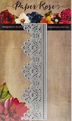 Paper Rose - Cutting Die - Madison Lace Edge