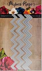 Paper Rose - Cutting Die - Layering Chevron Borders