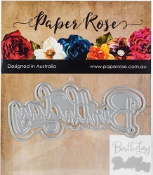 Paper Rose - Cutting Die - Birthday Layered