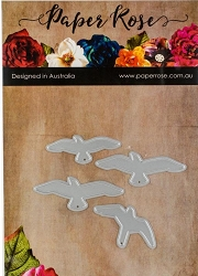 Paper Rose - Cutting Die - Flying Birds Large