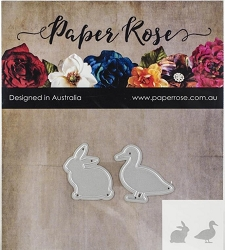 Paper Rose - Cutting Die - Duck & Rabbit