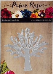 Paper Rose - Cutting Die - Tree Large