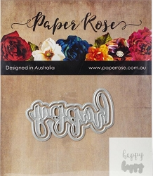 Paper Rose - Cutting Die - Happy Layered