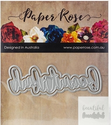 Paper Rose - Cutting Die - Beautiful Layered