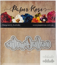 Paper Rose - Cutting Die - Celebrate Layered