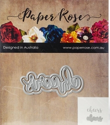 Paper Rose - Cutting Die - Cheers Layered