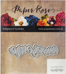 Paper Rose - Cutting Die - Awesome Layered