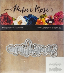 Paper Rose - Cutting Die - Sunshine Layered