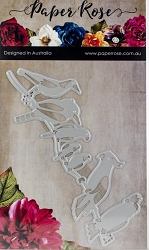 Paper Rose - Cutting Die - Australian Birds