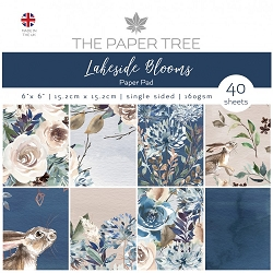 The Paper Tree - Lakeside Blooms Collection - 6x6 decorative paper pad