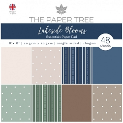 The Paper Tree - Lakeside Blooms Collection - 8x8 Essentials paper pad