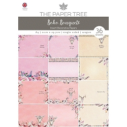 The Paper Tree - Boho Bouquets Collection - A4 Insert Collection
