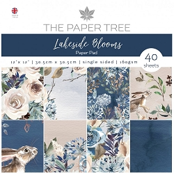 The Paper Tree - Lakeside Blooms Collection - 12x12 decorative paper pad