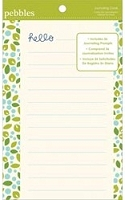 Pebbles - Family Ties Collection - Cards 36/Pkg - Journaling Prompts