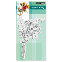 Penny Black - Slapstick Cling Stamp - Elegance In Motion