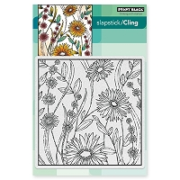 Penny Black - Slapstick Cling Stamp - Flower Box