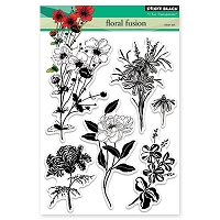 Penny Black - Clear Stamp - Floral Fusion