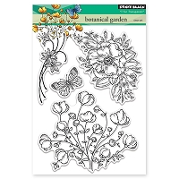 Penny Black - Clear Stamp - Botanical Gardens