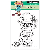 Penny Black - Clear Stamp - Big Shoes