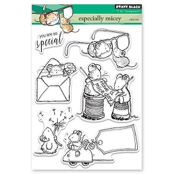 Penny Black - Clear Stamp - Especially Micey