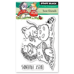 Penny Black - Clear Stamp - Best Friends