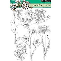 Penny Black - Clear Stamp - Nature's Art