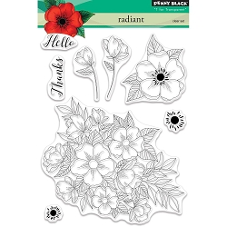 Penny Black - Clear Stamp - Radiant