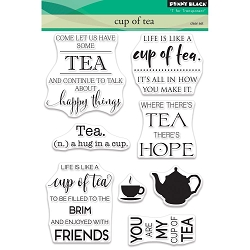 Penny Black - Clear Stamp - Cup Of Tea