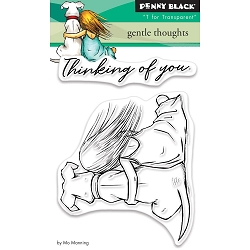 Penny Black - Clear Stamp - Gentle Thoughts
