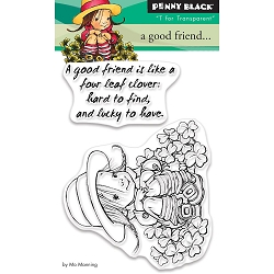 Penny Black - Clear Stamp - A Good Friend