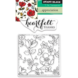 Penny Black - Clear Stamp - Appreciation