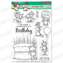 Penny Black - Clear Stamp - It's Your Day