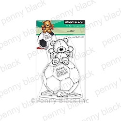 Penny Black - Clear Stamp - . . . Star