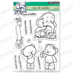 Penny Black - Clear Stamp - Love & Cuddles