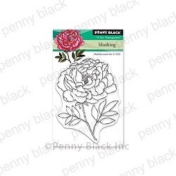 Penny Black - Clear Stamp - Blushing