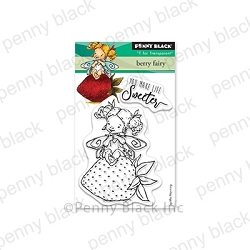 Penny Black - Clear Stamp - Berry Fairy