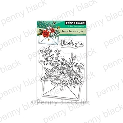 Penny Black - Clear Stamp - Bunches for You