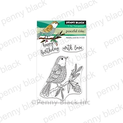 Penny Black - Clear Stamp - Peaceful Time
