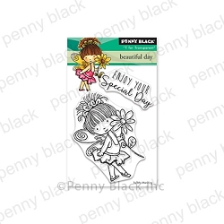 Penny Black - Clear Stamp - Beautiful Day
